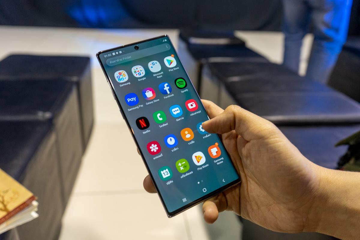 ลอง(นิดหน่อย)แล้วเล่า : Samsung Galaxy Note 10+